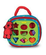Melissa and Doug Take-Along Shape Sorter Baby Toddler Toy 9185 - $16.82