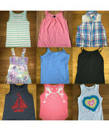 *build your own huge lot girl tank top GAP old navy children place 7 - 8... - $2.97+