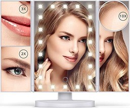 Lighted Makeup Mirror with 22 LEDs - Vanity Mirror with Lights - 10X/3X/... - $62.83