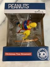 Hallmark Peanuts Woodstock Skiing Christmas Tree Holiday Ornament 2020 - $14.90