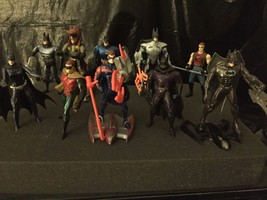 lot of 10  Kenner DC Action Figure Collection Loose Lot W/ Ice Hammer Ve... - $5.45