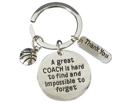 Basketball Great Coach is Hard to Find Coach Keychain - $9.99