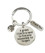 Basketball Great Coach is Hard to Find Coach Keychain - €9,22 EUR