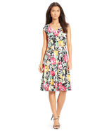 NWT Lauren Ralph Lauren Petite Floral-Print Jersey Dress size P( XSP)$150 - $49.49
