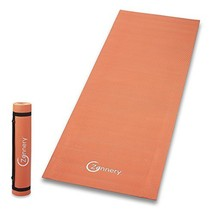 Zennery Non-Slip Yoga Mat with Adjustable Carrying Strap Orange - $13.60