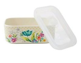 Pioneer Woman ~ Ceramic Food Storage Container ~ Sweet Rose Pattern ~ Me... - $26.60