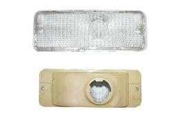 73 74 75 76 77 FORD F-150 F150 F250 F350 Truck Front Turn Signal Lights CLEAR image 5