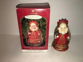 Hallmark Keepsake Ornament Red Queen Madame Alexander #4 In Series 1999 - $2.25