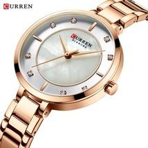 Drop Shipping Curren Women Watches Luxury Brand Ladies Quartz Watch Waterproof D - $41.49