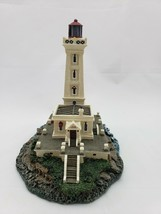 """The Danbury Mint """"Point Abino Lighthouse"""" Authentic Lighthouse Sculpture - $28.05"""