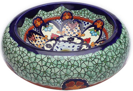 "Mexican Ceramic Bathroom Sink ""San Francisco"" - $260.00"
