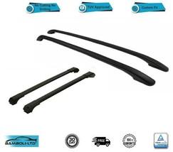 For Porsche Cayenne Roof Side Rails Cross Bars Set 4 Pieces Black 2003-2010 - $233.66