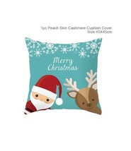 Cotton Linen Merry Christmas Cover Cushion Christmas Decor for Home - 49-53 - $12.99