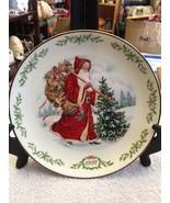 Lenox International Santa Claus Plate Collection 1992 Kris Kringle Plate - $18.75