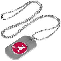 Alabama Crimson Tide Dog Tag Necklace with a embedded collegiate medallion - €9,68 EUR