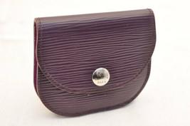 Louis Vuitton Epi Moneta Case Viola M66572 Auth IV 5695 - $121.97