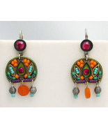 Signed ADAYA Maya Micro Mosaic Earrings - $43.00