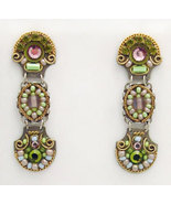 Signed ADAYA Maya Micro Mosaic Earrings - $65.00