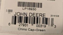 John Deere LP16930 Green Adjustable BaseBall Cap With Leaping Deer Logo image 10