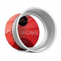 """Last Confection 7"""" x 3"""" Deep Round Aluminum Cheesecake Pan with Removabl... - $11.14"""