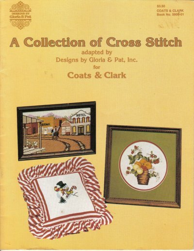 A Collection of Cross Stitch Pattern Booklet Coats & Clark 1981 5900-01