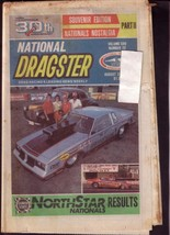 NATIONAL DRAGSTER-NHRA-8/31/84-GLIDDEN- HAWLEY-BECK- VG - $37.25