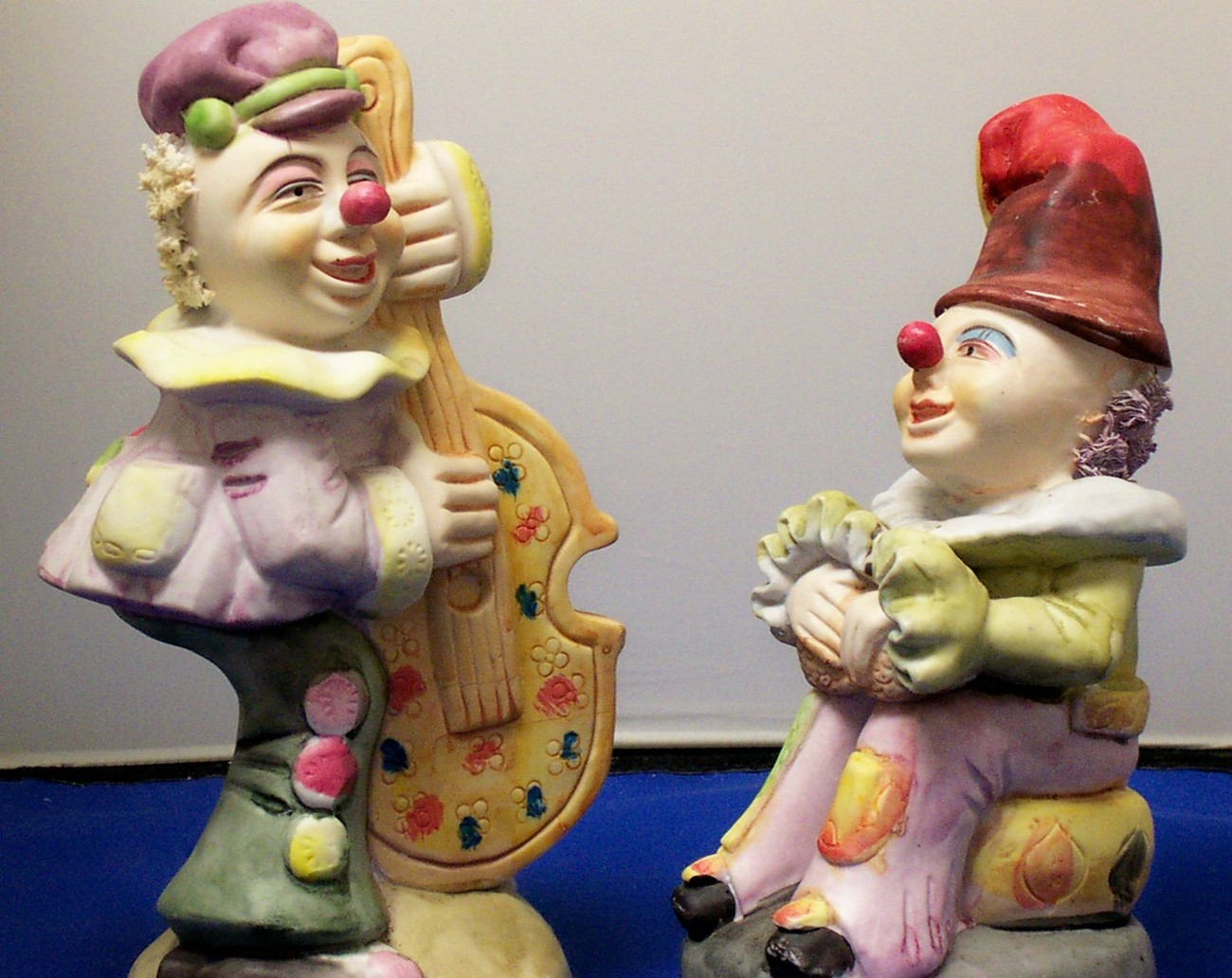 Primary image for PAIR OF CLOWN FIGURINES by ALBERT E. PRICE, INC. 1986