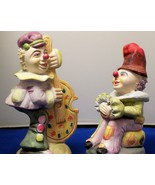 PAIR OF CLOWN FIGURINES by ALBERT E. PRICE, INC. 1986 - $14.99