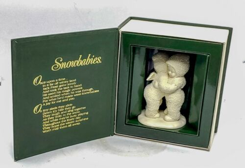 Primary image for Department 56 Winter Tales of the Snowbabies I need a hug W Box FREE SHIPPING