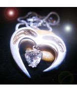 FREE WITH $99 Haunted NECKLACE HEARTACHE BE GONE MAGICK SCGOLARS WITCH C... - $0.00