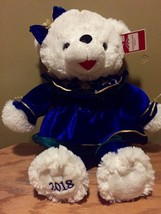 DanDee CHRISTMAS Snowflake TEDDY BEAR 2018 Walmart Bear White GIRL Blue ... - $28.71