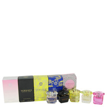 Versace Gift Set -- Miniature Collection Includes .17 oz minis of Crysta... - $75.00