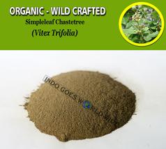 POWDER Simpleleaf Chastetree Legundi Vitex Trifolia Organic Wild Crafted... - $16.40+