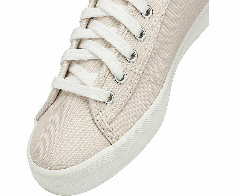Keds WF59236 Women's Kickstart Shimmer Chambray Petal Pink Shoes, 6.5 Med