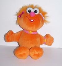 "Sesame Street Fisher Price Zoe Plush Doll 2002 Orange Mattel Muppets 11"" - $14.69"