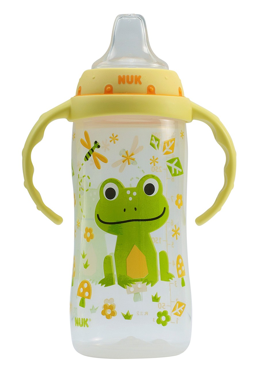 Primary image for Nuk LEARNER Cup - Two Handle 10 oz Tall Sippy Cup With Clear Silicone Spout