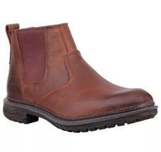 Men's Timberland Logan Bay Chelsea Boots Brown Leather A1V4Z. SZ:11 - $130.11
