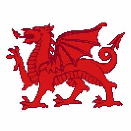 Scotland - Ireland - Wales CROSS STITCH - 3 ePatterns