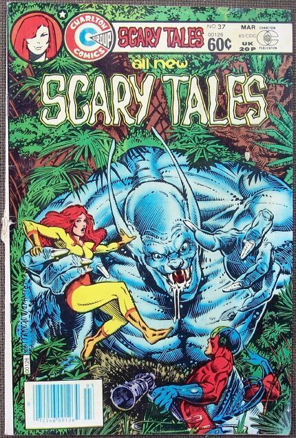 Comic Charlton Scary Tales No 37 March 1983