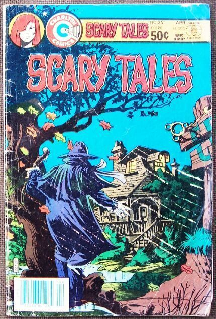 Comic Charlton Scary Tales No 25 April 1981