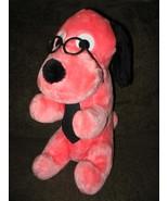 Vintage Wonder Toys PINK Plush DOG with Glasses - $35.00