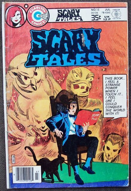 Comic Charlton Scary Tales No 15 July 1978