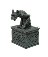 PTC 7 Inch Notre Dame Screaming Gargoyle Jewelry/Trinket Box Figurine - $33.20