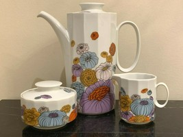 Rosenthal Studio Linie Polygon Patras Tapio Wirkkala Coffee Pot Sugar & ... - $179.00