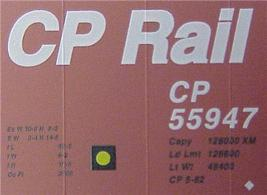 Micro Trains 24260 CP 40' Boxcar 55947 - $25.75