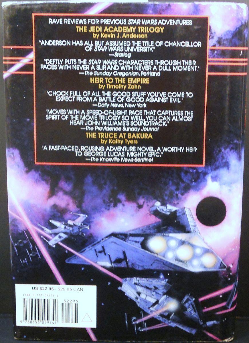 Star Wars Darksaber by Kevin J. Anderson 1995 DJ HC First Ed