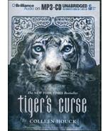 Tiger's Curse: Tiger's Curse 1 by Colleen Houck (2011, MP3 CD, Unabridged) - $5.34
