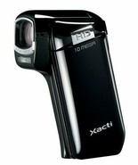 Sanyo Xacti CG10 Dual Camera HD Flash Memory Camcorder 5x Optical Zoom B... - $75.30