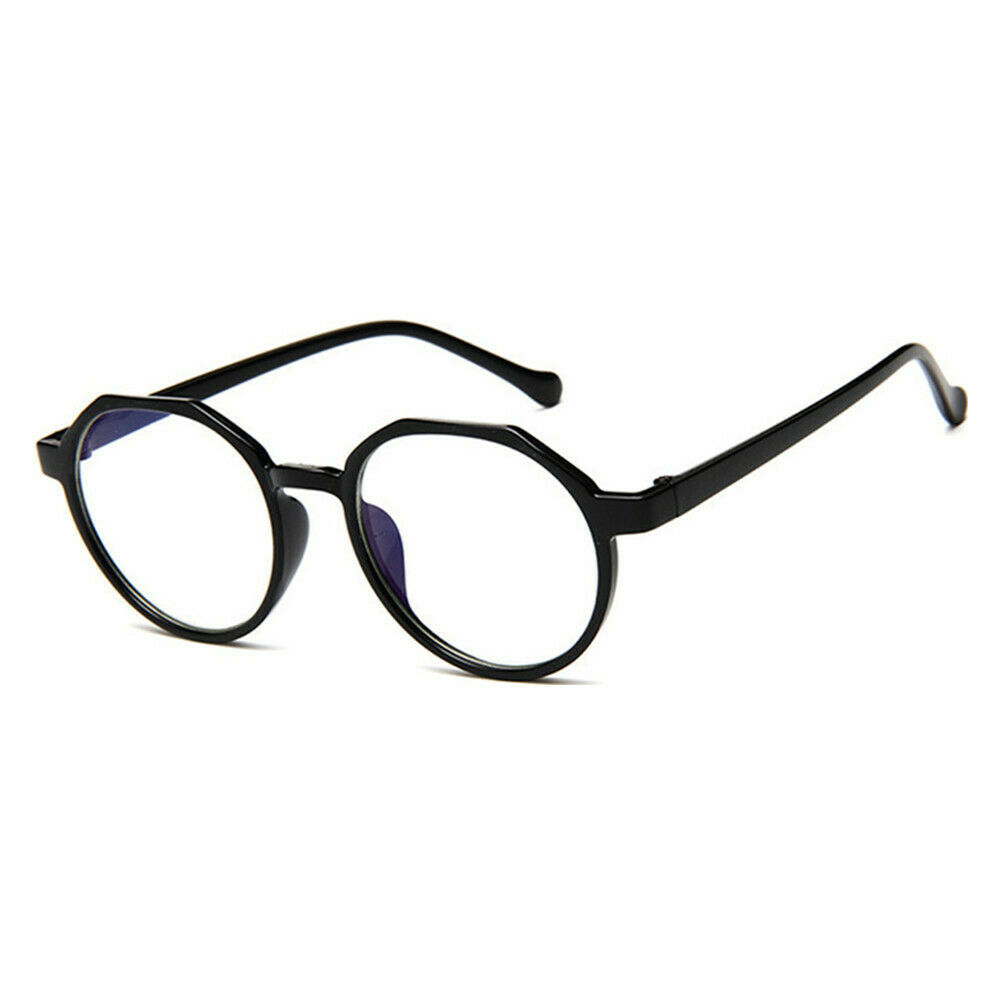 New Oval Fashion Classic Clear Lens Glasses Frame Retro Casual Daily Eyewear image 6