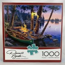 Jigsaw Puzzle Darrell Bush Summer Tranquility 1000 piece Buffalo Games - $27.91